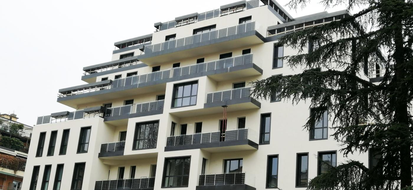 Balcone Fotovoltaico Ninfa