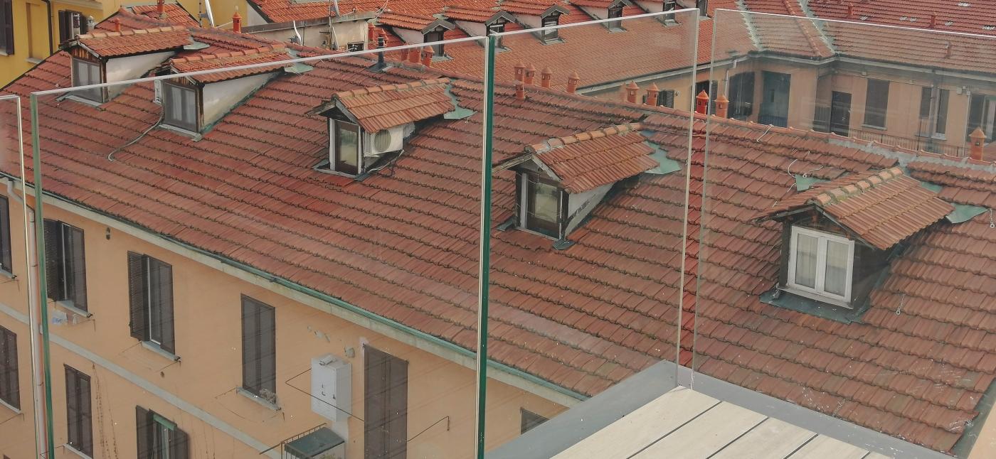 Balcone Fotovoltaico Trasparente